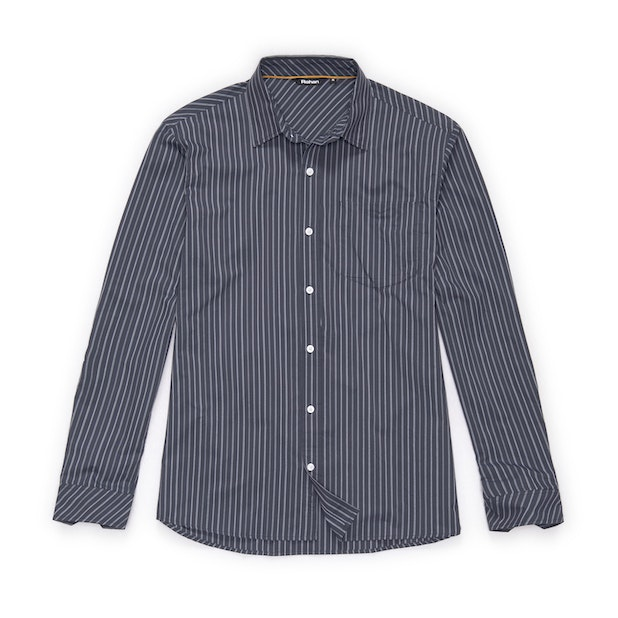Worldview Shirt - Ink Stripe