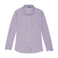 Viewing Worldview Shirt - Plum Nano Gingham