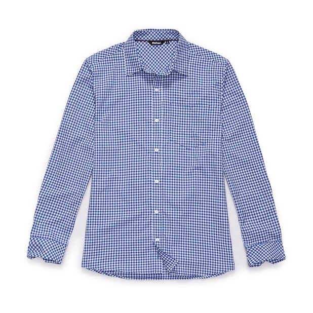 Worldview Shirt - Zenith Blue Gingham