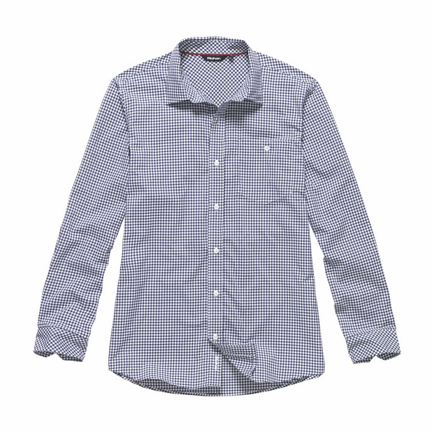Worldview Shirt - Twilight Blue Gingham