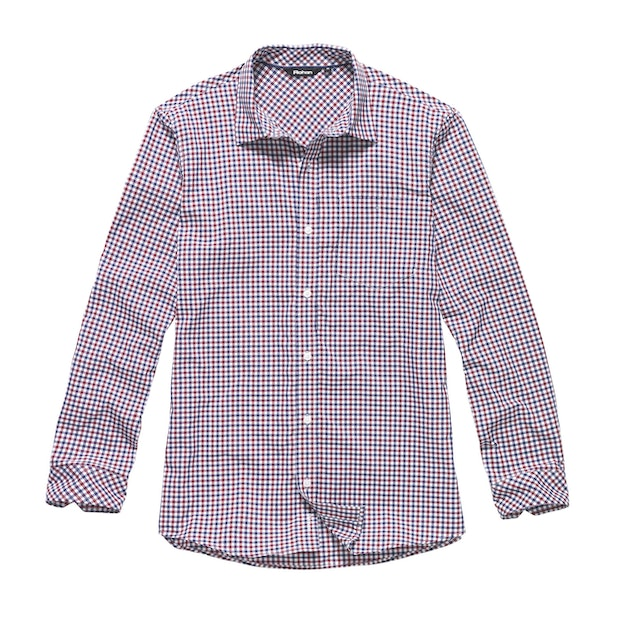 Worldview Shirt - Claret Red Gingham