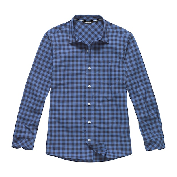 Worldview Shirt - Spring Blue Check