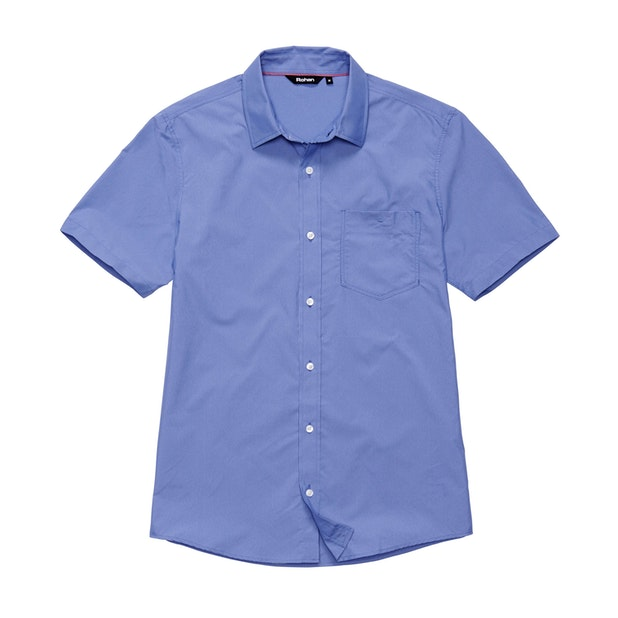 Worldview Shirt - Amparo Blue Micro Gingham