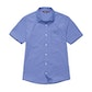 View Worldview Shirt - Amparo Blue Micro Gingham