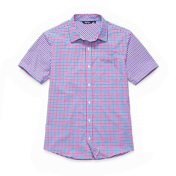 Worldview Shirt - Fuchsia Gingham