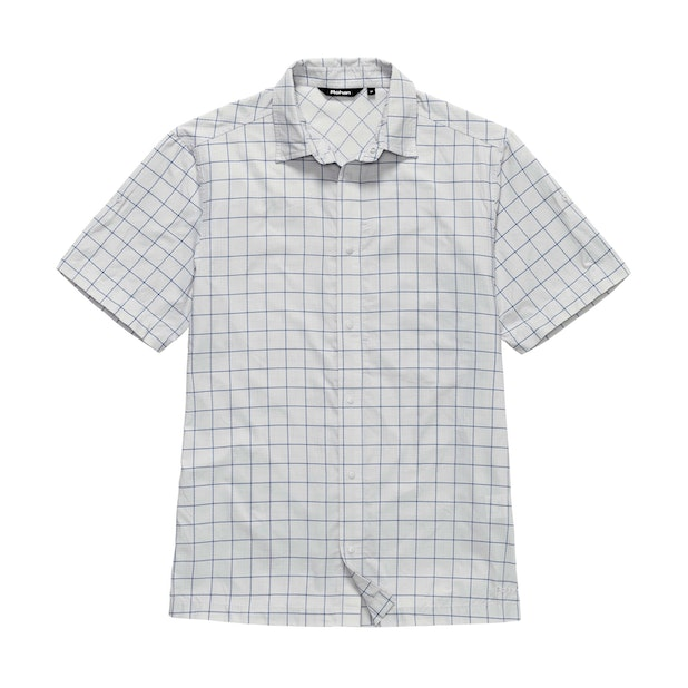 Aura Shirt - Flint Grey Check