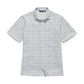Viewing Aura Shirt - Flint Grey Check