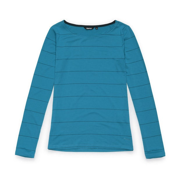 Stria Top - Turquoise Bay Stripe