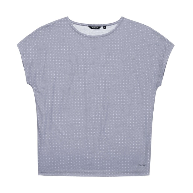 Pinpoint T - Summer Grey Print