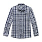 View Fenland Shirt Long Sleeve - Moonlight Blue Check