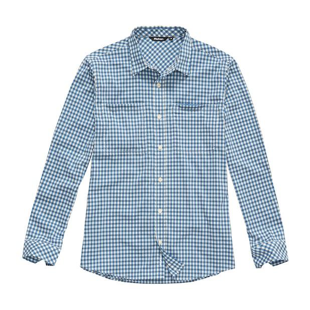Fenland Shirt Long Sleeve - Nautical Blue Gingham