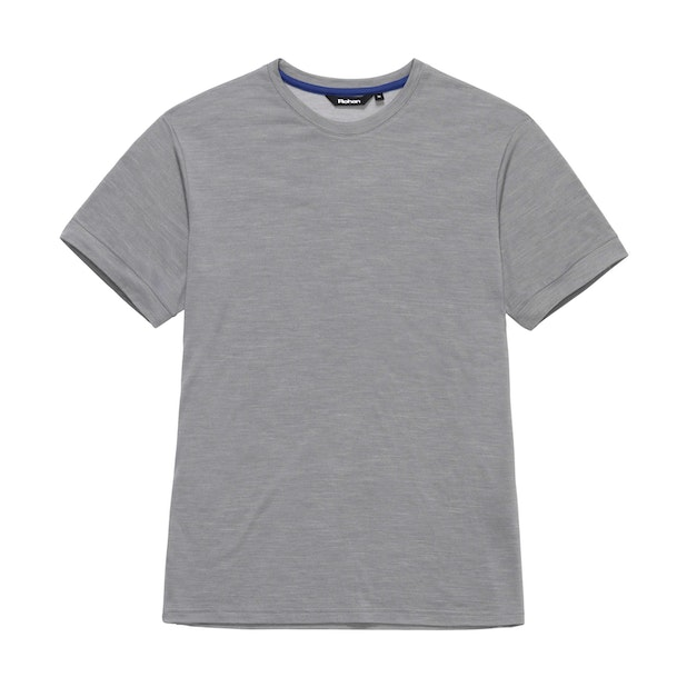 Merino Union 150 T Short Sleeve - Cloud Grey