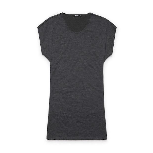 Merino Union 150 Dress - Charcoal Marl