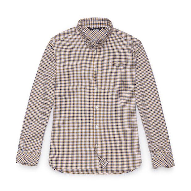Bridgeport Shirt Long Sleeve - Team Blue Gingham