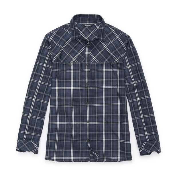 Crosscheck Shirt Long Sleeve - Deep Navy Check