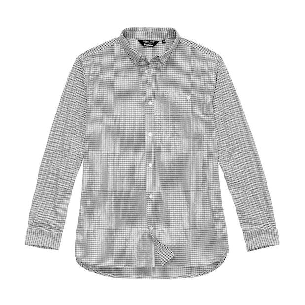 Sentry Shirt - Flint Grey Check