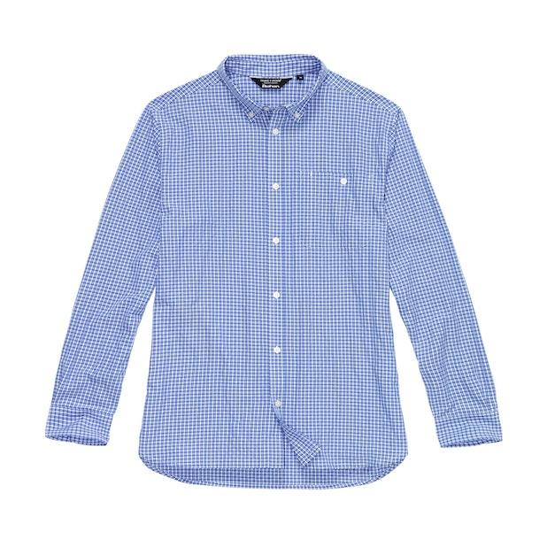 Sentry Shirt - Marina Blue Check