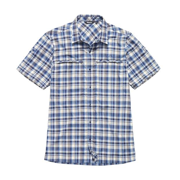 Equator Shirt - Marina Blue Check