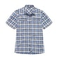 Viewing Equator Shirt - Marina Blue Check