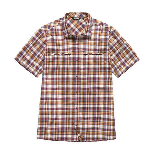 Equator Shirt - Dark Copper Check