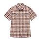 View Equator Shirt - Dark Copper Check
