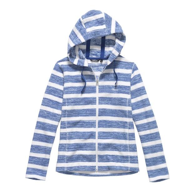 Coastline Hooded Jacket - Mallard Blue Stripe