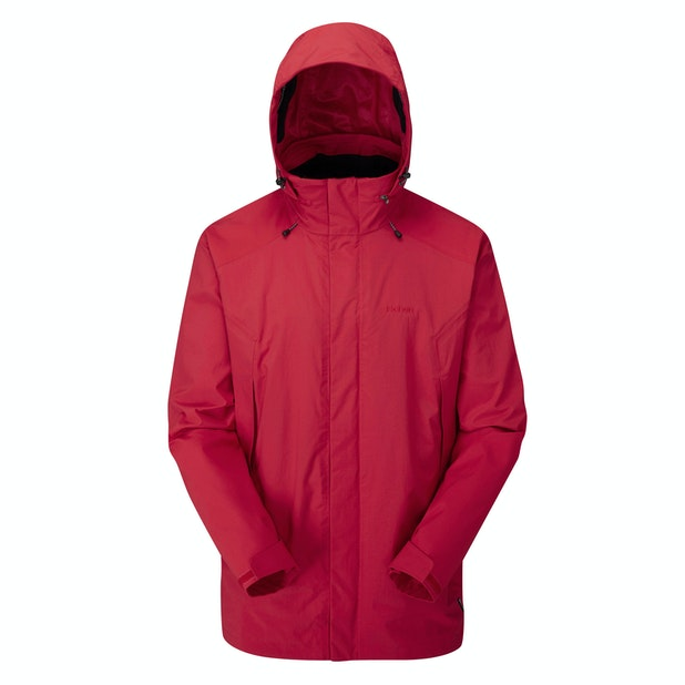 Ascent Jacket - Ruby Red