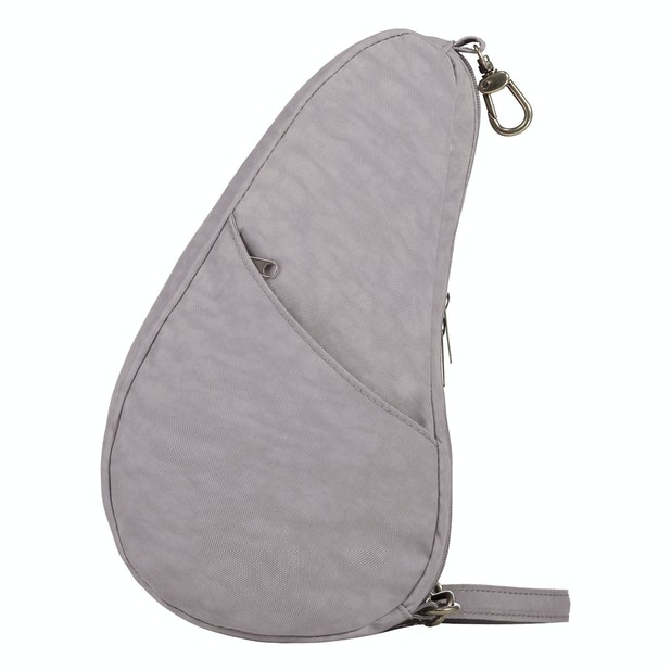 Healthy Back Bag Textured Nylon Large Baglett - Handy 1.5L ergonomically designed bag for small essentials.