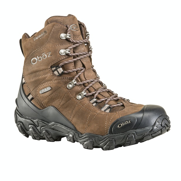 "Oboz Bridger 8"" Insulated B Dry  - Supportive, waterproof and breathable mid cut boots"