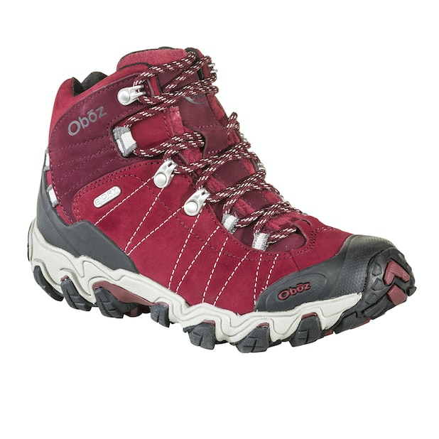 Oboz Bridger Mid B Dry -  Waterproof, durable boots with excellent trail performance.