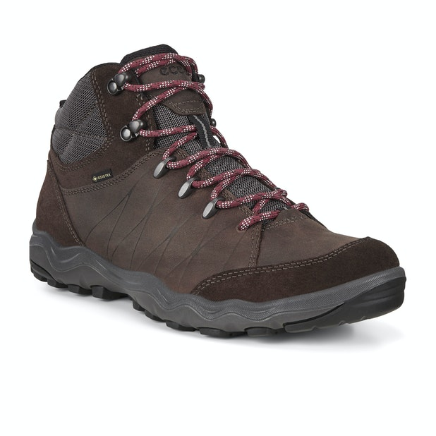 Ecco Ulterra GTX  - Strong and flexible outdoor boots designed for all-day comfort.
