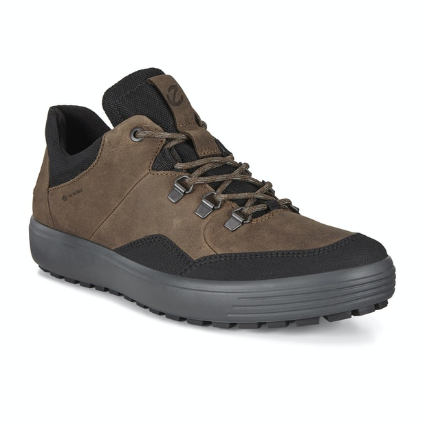 Ecco Soft 7 Tred Yak GTX  - Water-resistant, breathable contemporary trainers.