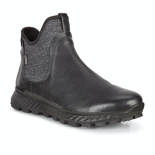 Ecco Exostrike Boot Yak GTX - Ultra light, waterproof street-smart Chelsea boot.