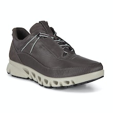 Breathable, waterproof and flexible outdoor trainers.