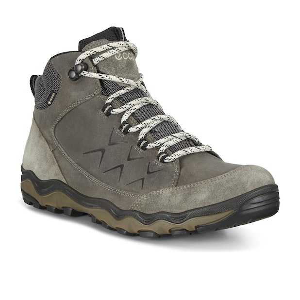 Ecco Ulterra Mid Yak GTX  - Strong and flexible outdoor boots designed for all-day comfort.