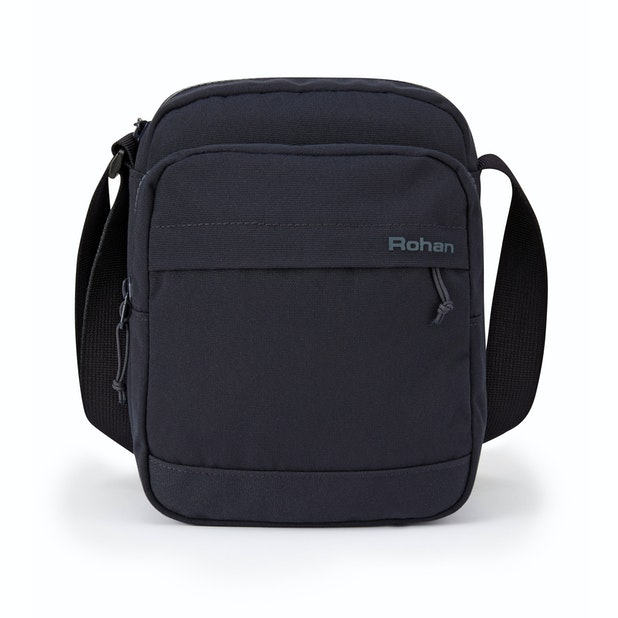 RFID Protected Shoulder Bag Canvas - Comfortable and travel suitable RFID protected shoulder bag.