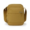 Unisex RFID Protected Shoulder Bag Canvas - Alternative View 1