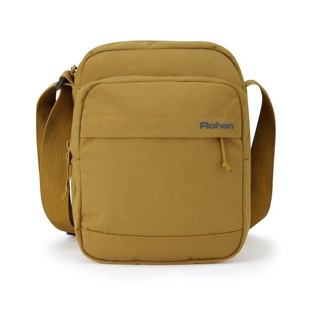 RFID Protected Shoulder Bag Canvas - Comfortable and travel suitable RFID protected shoulder bag.