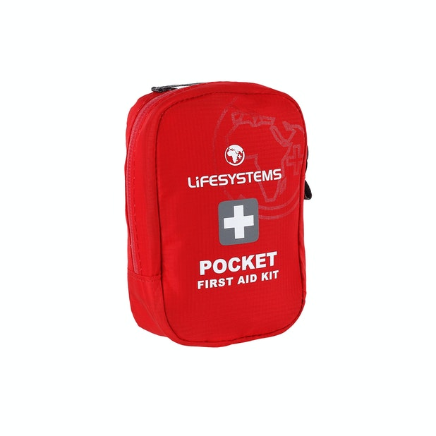 Life Systems Pocket First Aid Kit - 24 piece pocket set to treat minor injuries.