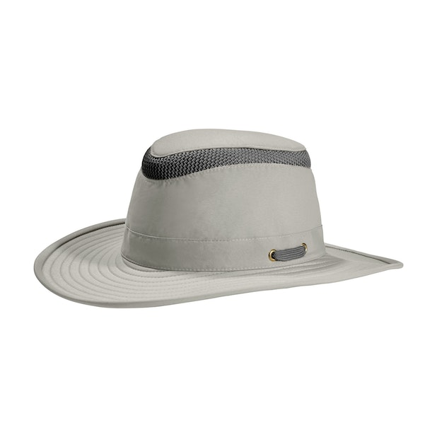 Tilley LTM6 Broad Curved Brim Lightweight Airflo Hat - Broad brim hat with sun protection