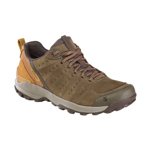 Oboz Sypes Low Leather B Dry M's - Supportive, waterproof and versatile for all your favourite activities.