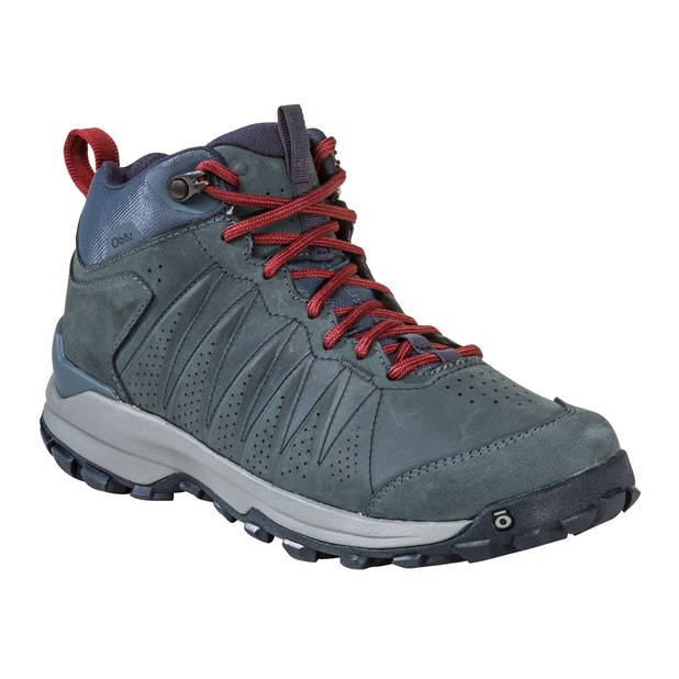 Oboz Sypes Mid Leather B Dry W's - Lightweight, versatile and waterproof hiking shoes.