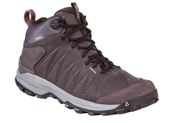 """Oboz Sypes Mid Leather B Dry - Lightweight, versatile and waterproof hiking shoes. <br /><span style=""""color:#007380;font-weight:bold"""">Plus free shoe care kit worth &pound;16</span>"""