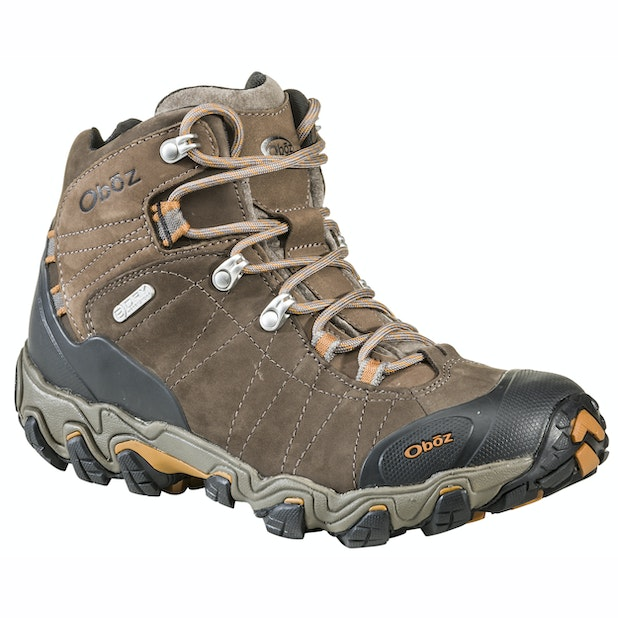 """Oboz Bridger Mid B Dry - Wide - Durable, waterproof and supportive walking boot. <br /><span style=""""color:#007380;font-weight:bold"""">Plus free shoe care kit worth &pound;16</span>"""