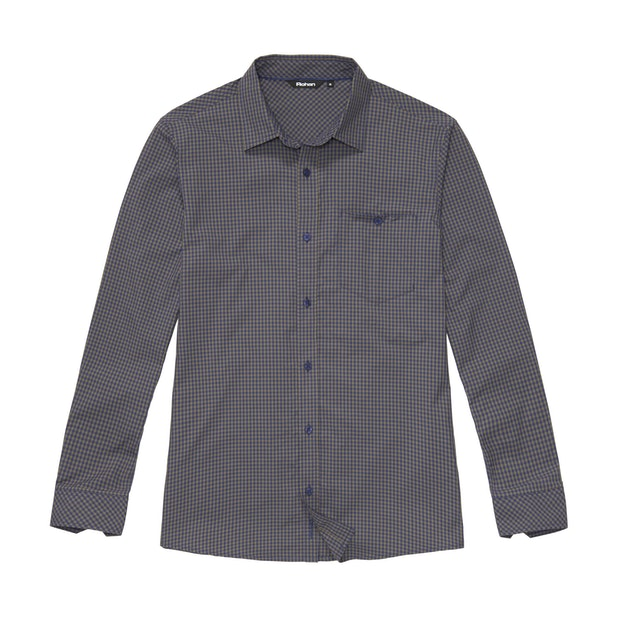 Worldview Shirt - Caribou Gingham