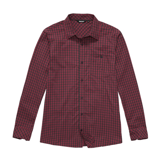 Worldview Shirt - Canadian Red Gingham
