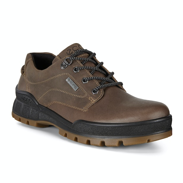 Ecco Track 25 Smooth Low - Durable, waterproof workwear-inspired leather shoes