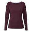 View Stria Top - Bordeaux Stripe