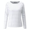View Stria Top - White Stripe
