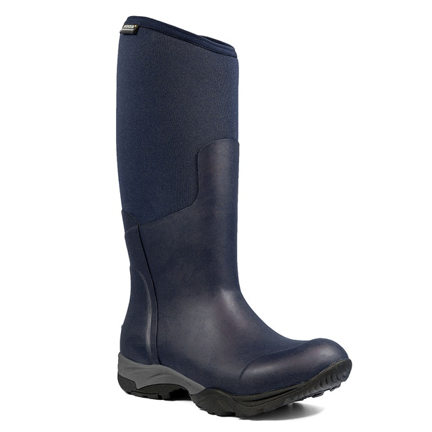 Bogs Light Tall Solid - Waterproof, slip resistant wellies comfort rated to -25C